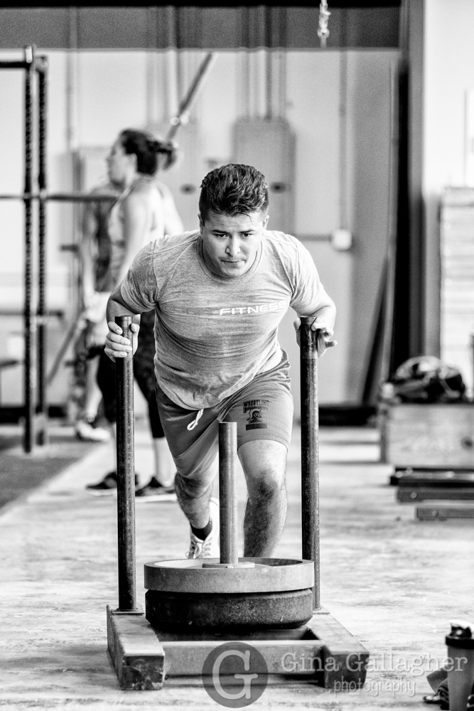 Action Photos in Challenging Light:  Crossfit